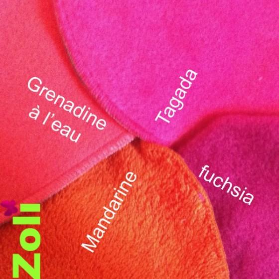 capuchon-bebe-rose-orange