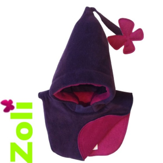 capuchon-bebe-violet-fushia