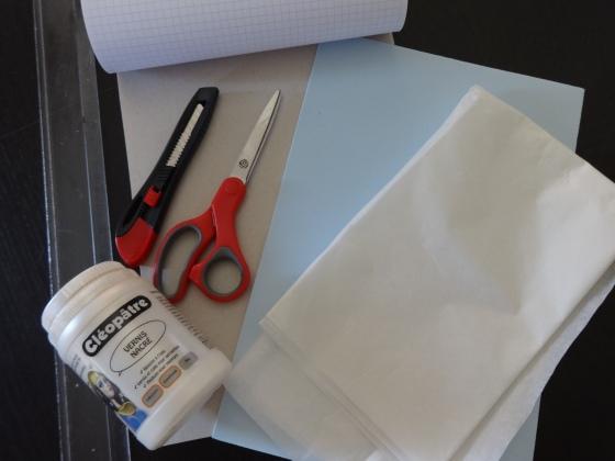 matériel DIY tapis de souris